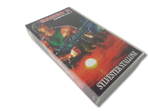 VHS-elokuva (Rambo II - Taistelija II) K16