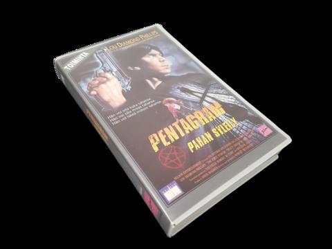 VHS-elokuva (Pentagram - Pahan syleily. Vuokrakasetti) K16