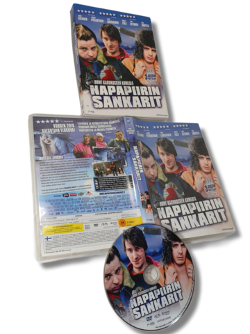 DVD -elokuva (Napapiirin sankarit) K12