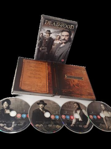 DVD -televisiosarja (Deadwood, 2.kausi) K18