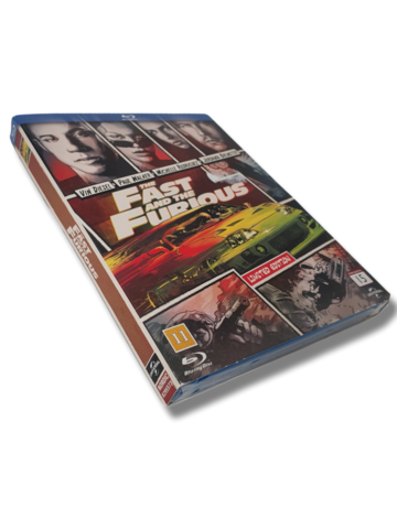 DVD -elokuva (The Fast and The Furious) K16