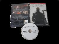 DVD -elokuva (Anonymous - Tuntematon) K12