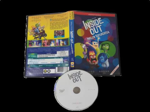Lasten DVD -elokuva (Inside Out - Mielen sopukoissa) K7