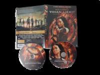 DVD -elokuva (Nälkäpeli - Vihan liekit - 2-Disc Special Edition) K12