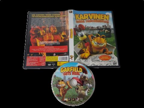 Lasten DVD -elokuva (Karvinen herää todellisuuteen) K7
