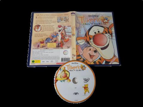 Lasten DVD -elokuva (Tiikerin oma elokuva) S