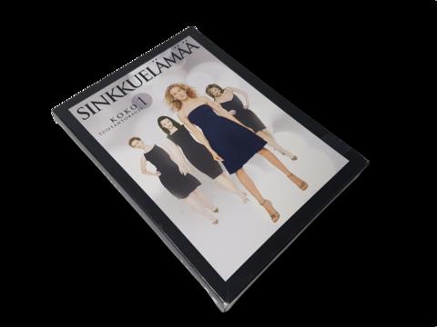 DVD-televisiosarja (Sinkkuelämää - 1. tuotantokausi) K18