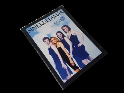 DVD-televisiosarja (Sinkkuelämää - 2. tuotantokausi) K18