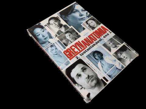 DVD-televisiosarja (Greyn anatomia, 2. tuotantokausi, osa 1.) K12