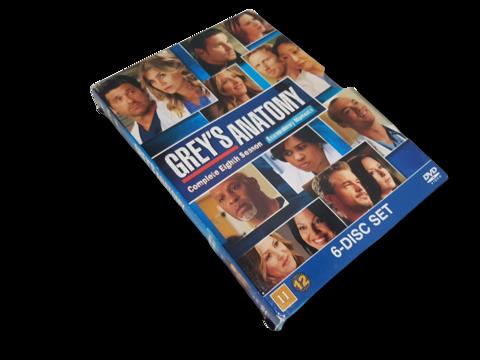 DVD-televisiosarja (Greyn anatomia, 8. tuotantokausi) K12
