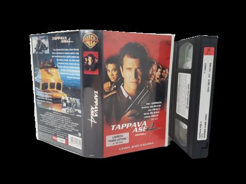 VHS -elokuva (Tappava ase 4) K16