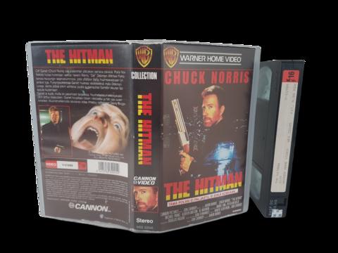 VHS -elokuva (Chuck Norris - The Hitman) K16