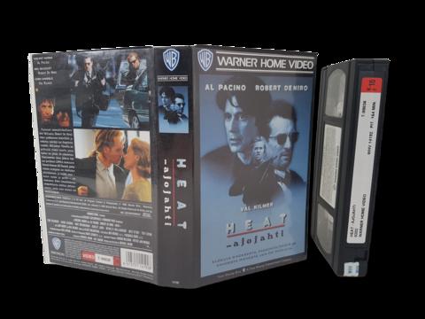 VHS -elokuva (Heat - Ajojahti) K16
