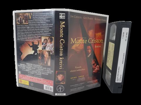 VHS -elokuva (Monte Criston kreivi) K12