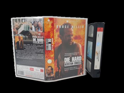 VHS -elokuva (Die Hard - Koston enkeli) K16
