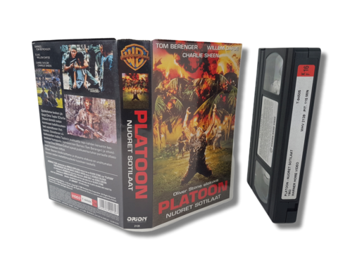 VHS -elokuva (Platoon) K16