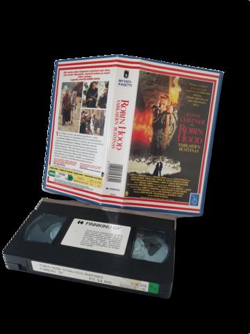 VHS -elokuva (Robin Hood -Varkaiden ruhtinas) K16