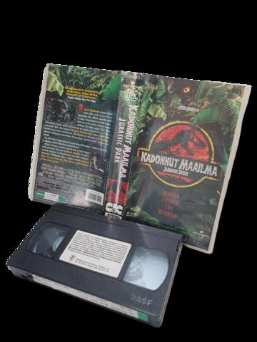 VHS -elokuva (Jurassic Park) K12