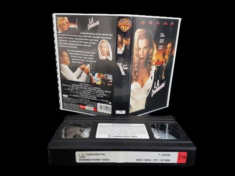 VHS -elokuva (L.A. Confidental) K16