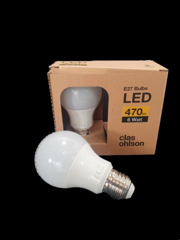 LED -lamppu (2 kpl, Clas Ohlson)