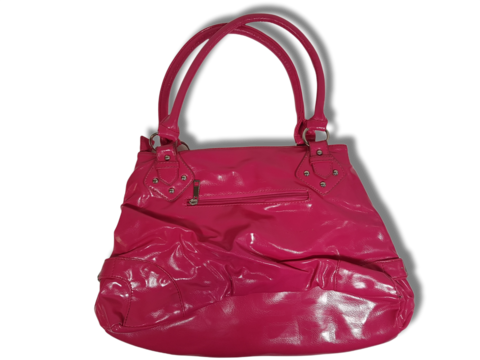 Pinkki käsilaukku