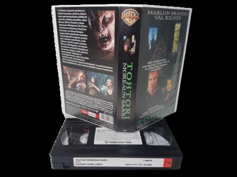 VHS -elokuva (Tohtori Moreaun saari) K16