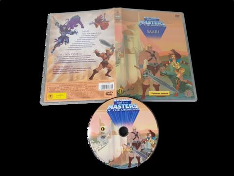 Lasten DVD-elokuva (He-Man And The Masters Of The Universe - Saari) K7