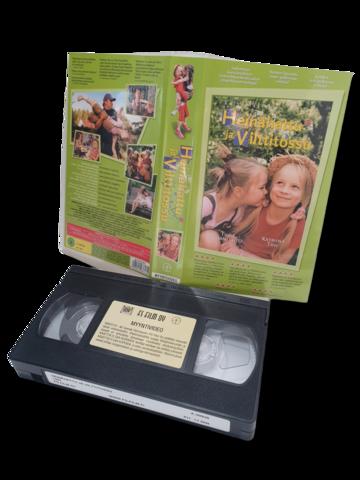 VHS -elokuva (Heinähattu ja Vilttitossu) K7