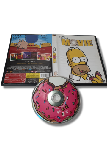 DVD -elokuva (The Simpsons Movie) K7