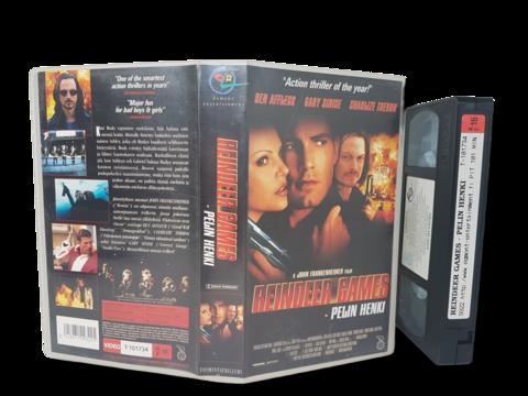 VHS -elokuva (Reindeer Games - Pelin henki) K16