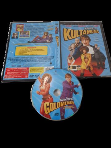 DVD -elokuva (Austin Powers ja Kultamuna) K12