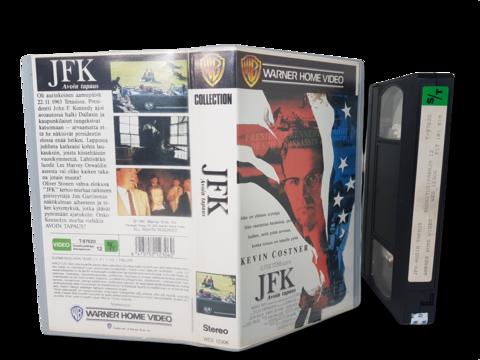 VHS -elokuva (JFK - Avoin tapaus) K12