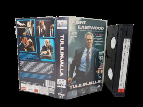 VHS -elokuva (Tulilinjalla) K16