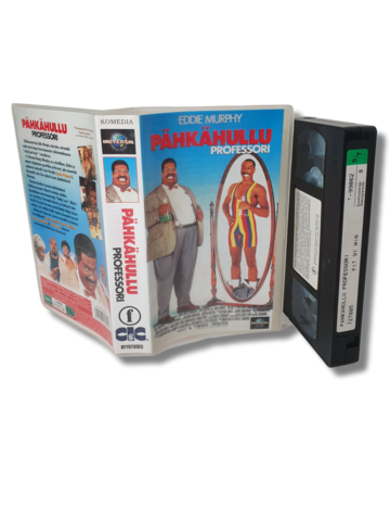 VHS -elokuva (Pähkähullu professori) S
