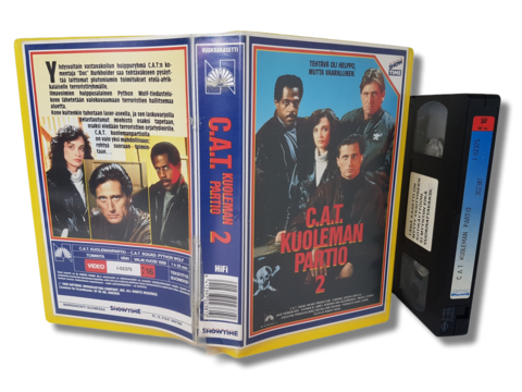 VHS -elokuva (C.A.T Kuoleman partio 2)