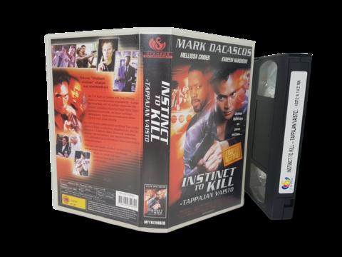 VHS -elokuva (Instinct to Kill - Tappajan vaisto) K16