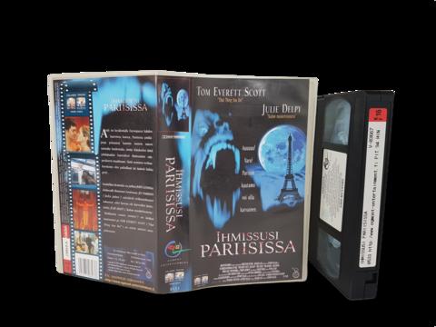 VHS -elokuva (Ihmissusi Pariisissa) K16