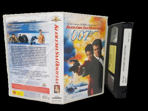VHS -elokuva (007 - Kuolema saa odottaa) K16