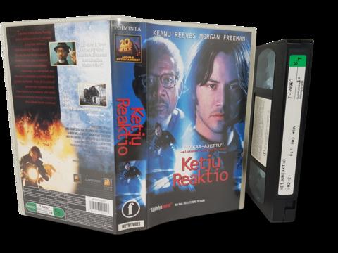 VHS -elokuva (Ketjureaktio) K16
