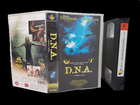 VHS -elokuva (D.N.A - Viidakon kauhu) K16