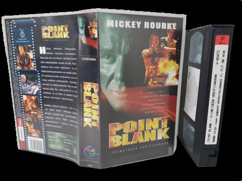 VHS -elokuva (Point Blank - Viimeiseen veripisaraan) K16