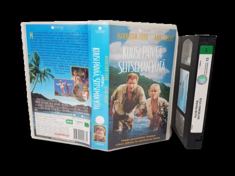 VHS -elokuva (Kuusi päivää ja seitsämän yötä) K12