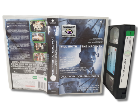 VHS -elokuva (Valtion vihollinen) K12