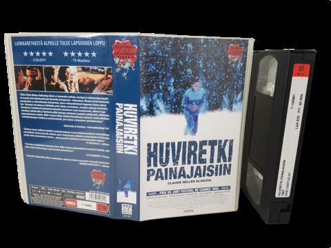 VHS -elokuva (Huviretki painajaisiin) K16