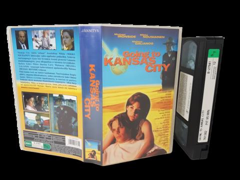 VHS -elokuva (Going to Kansas City) K12