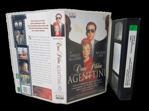 VHS -elokuva (Oma pikku agenttini) K12
