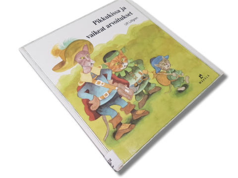 Lasten kierrätyskirja (Ulf Löfgren - Pikkukissa ja vaikeat arvoitukset)