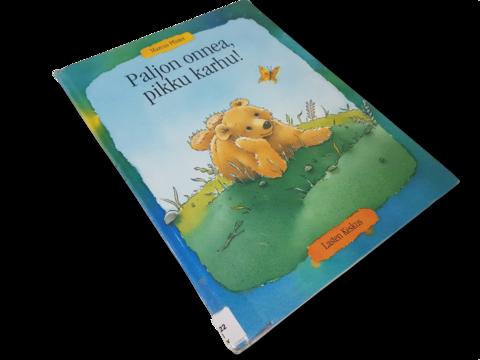 Lasten kierrätyskirja (Marcus Pfister - Paljon onnea, pikku karhu!)