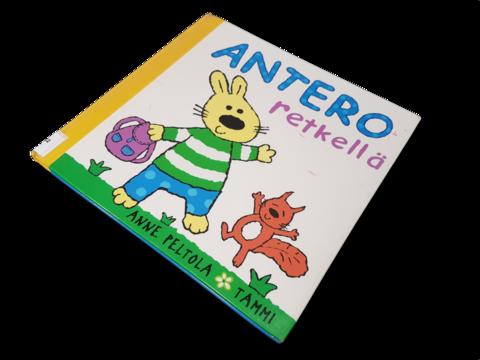 Lasten kierrätyskirja (Anne Peltola - Antero retkellä)