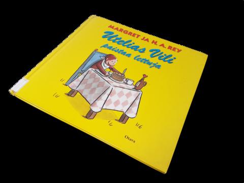 Lasten kierrätyskirja (Marget Ray - Utelias Vili paistaa lettuja)
